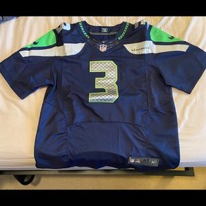 Authentic Russell Wilson Seattle Seahawks Jersey